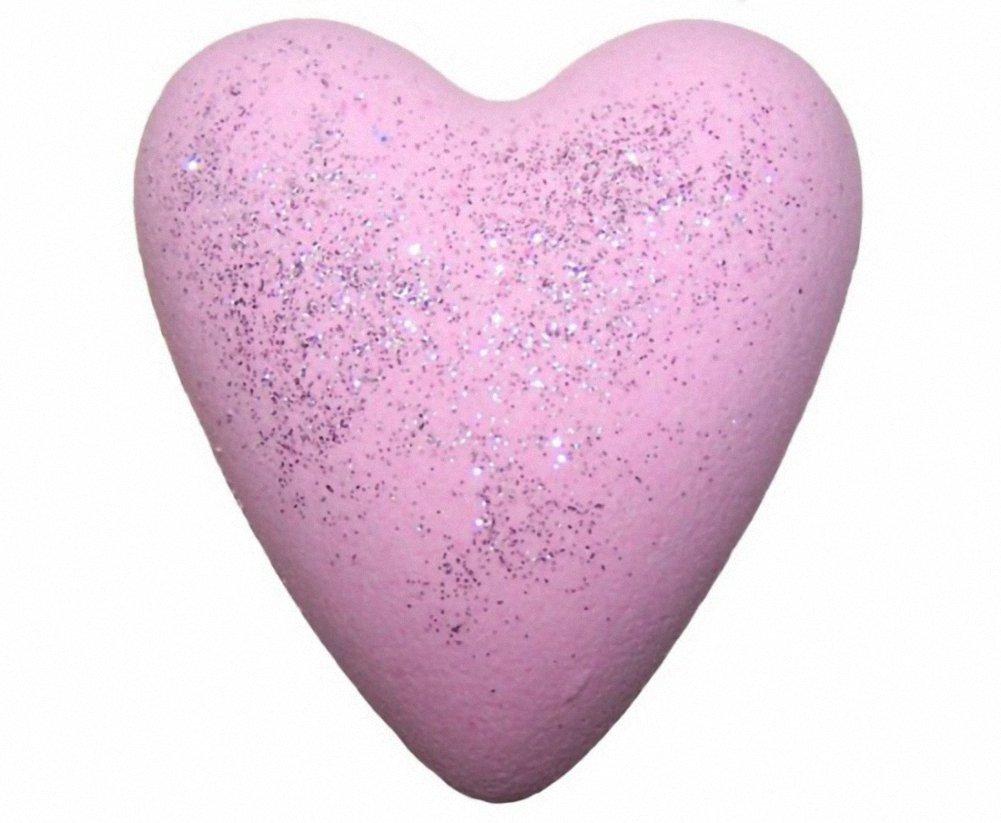 Coeurs de bain effervescents - Jasmin