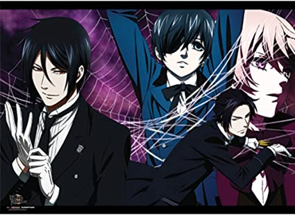 Black Butler Kuroshitsuji Ciel Phantomhive /& Alois Cosplay rings 2pcs New in Box