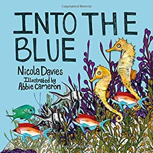 book cover of Into the Blue