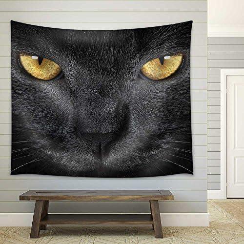 Grey Cat Fabric Wall