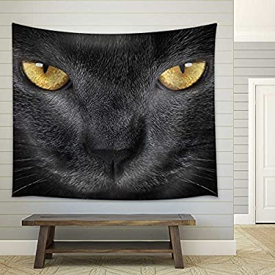 Wonderful Artistry, Classic Artwork, Grey Cat Fabric Wall