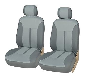 Black Gray Car Seat Front Semi-Custom Fabric to Hyundai 8161