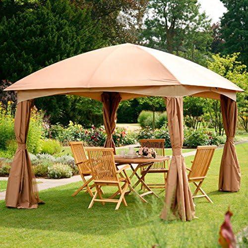 Pabellón de jardín Luxury Palace pequeño: Amazon.es: Jardín