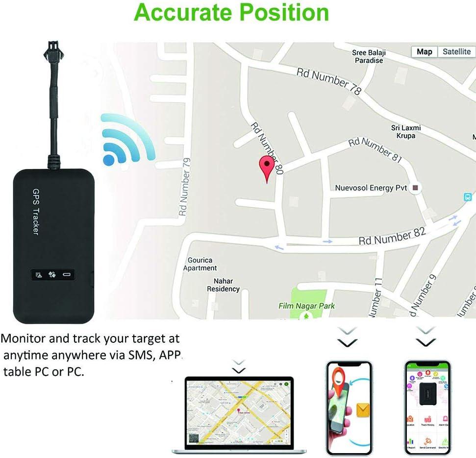 Camion Longue Dur/ée en Temps r/éel GPS//GPRS//GSM Tracker Anti Perte Antivol Anti-Perdu avec APP pour iOS et Android Moto V/élo Likorlove Traceur Localiser Traqueur GPS Voiture V/éhicule