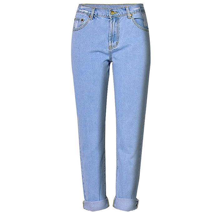 Amazon.com: Beauty Garden - Pantalones vaqueros de algodón ...
