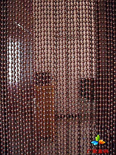 - Faraway Chinese Wooden Bead Curtains Door Window Curtain, Size 90x180cm 31 String