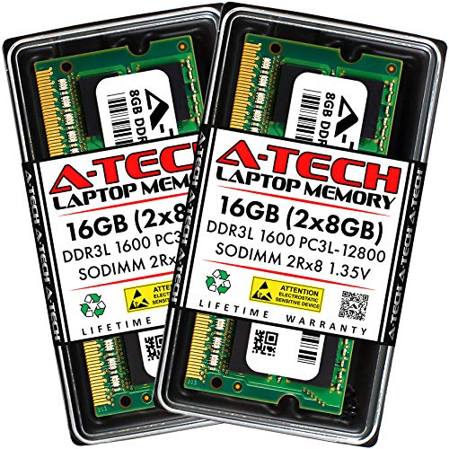 A-Tech 16GB (2x8GB) DDR3 / DDR3L...