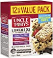 UNCLE TOBYS Muesli Bars Lunchbox Favourites, 12 bars, 375 Grams, Assorted Flavour