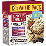 UNCLE TOBYS Muesli Bars Lunchbox Favourites, 12 Pack, 375 Grams, Assorted Flavour