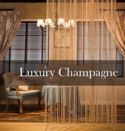 Lanyani Curtain Divider Decoration champagne