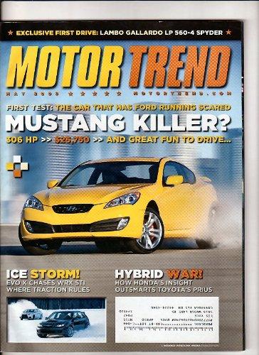Motor trend Magazine May 2009
