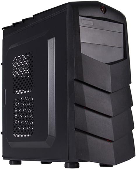 Black Lion PG1139 Carcasa de Ordenador Midi-Tower Negro - Caja de ...