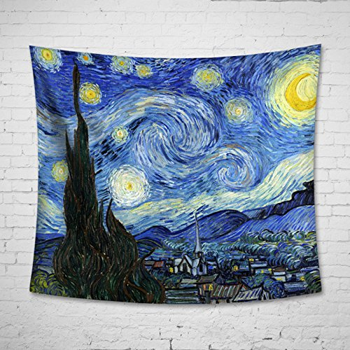 Uphome Starry Night Tapestry Hanging