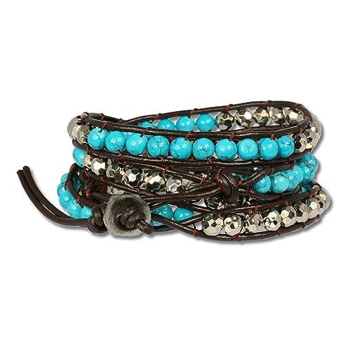 HILISS Fashion Bubble Gold Chain Bracelet