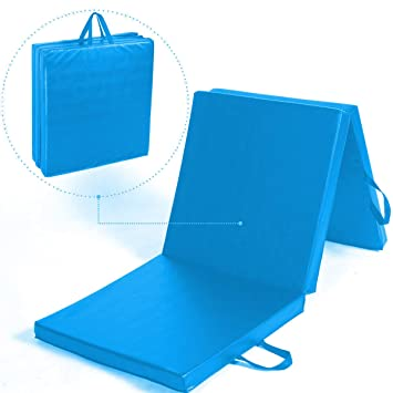 TnP Accessories - Esterilla de gimnasia triple, plegable, de ...