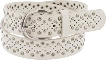 X-CESSOIRE Girls 3//4 Perforated Fashion Leather Belt
