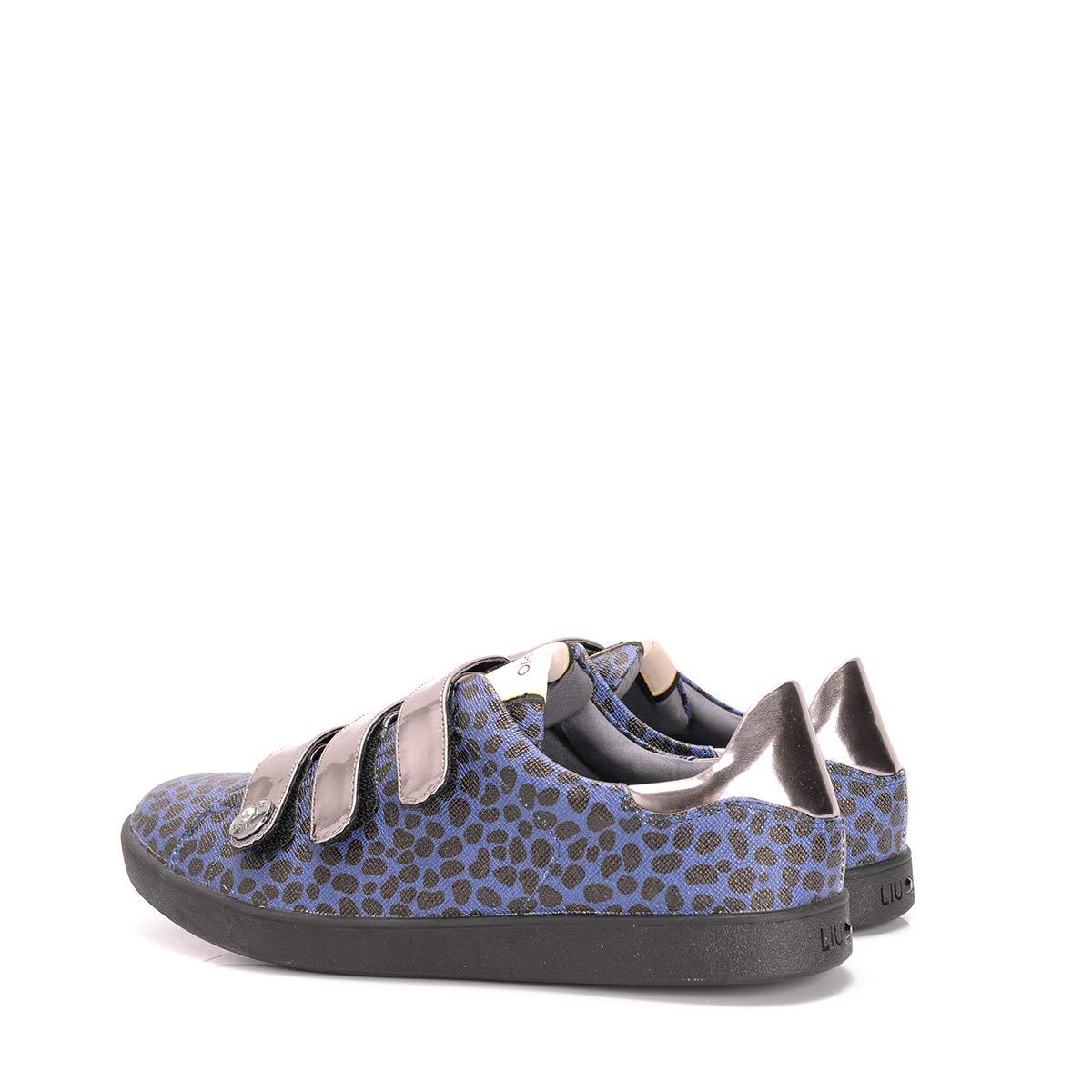 Liu-Jo Sneaker C/Velcri1 - / S65107 E0087 / - Sneaker C/Velcri Cel - SIZE: 38(EU) - cdac4d