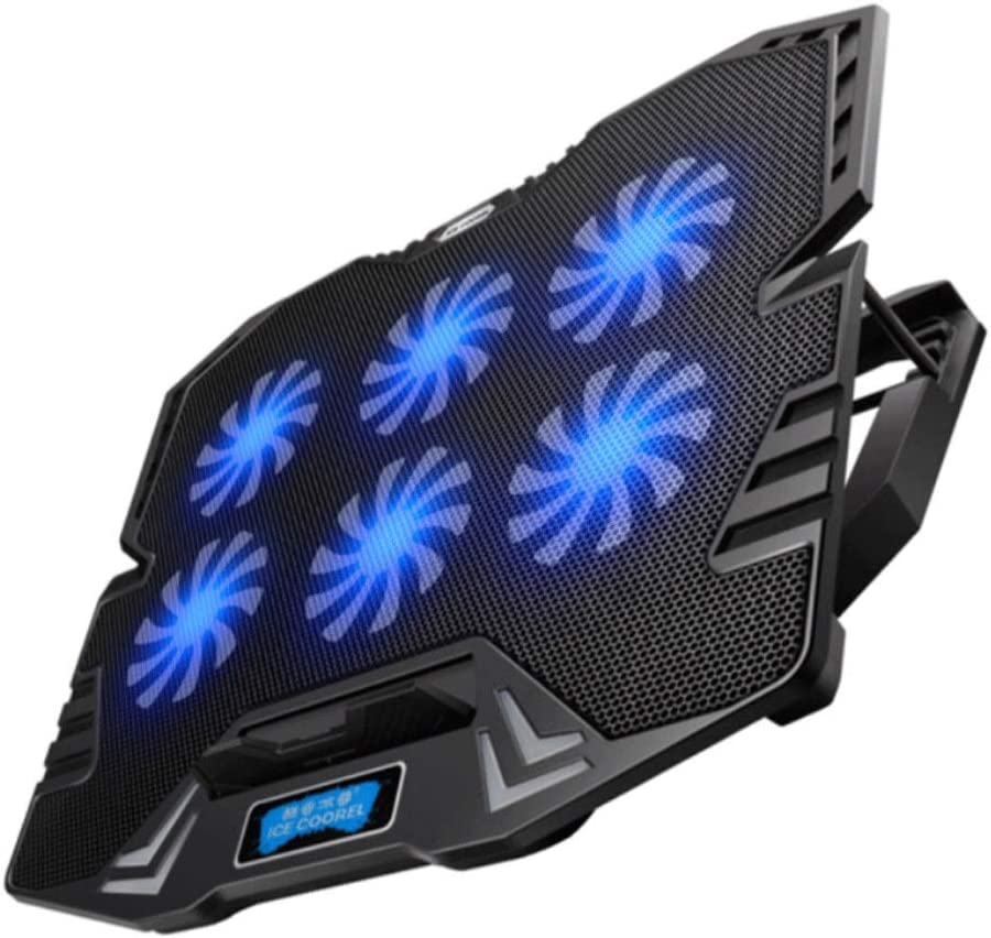 Computer Accessories//Notebook Stand//Heat Sink//Cooling Pad//Compatible Below 15.6 Inches,Light and Stylish Color : Black Youshangshipin Notebook Cooler
