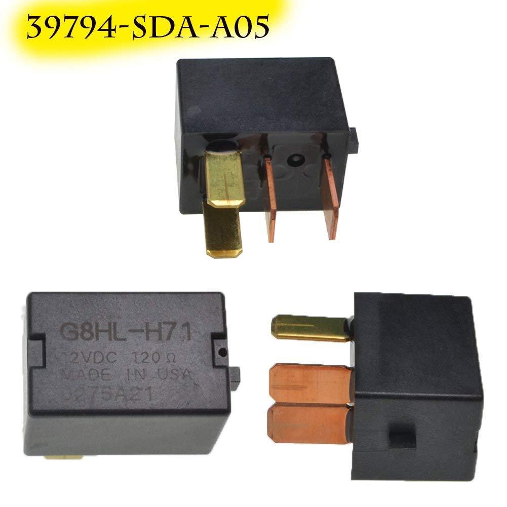 39794 Sda A03 Power Relay Assembly Fuse G8hl H71 12vdc A C Kompresor Honda All New Jazz Ori Compressor Car Motorbike