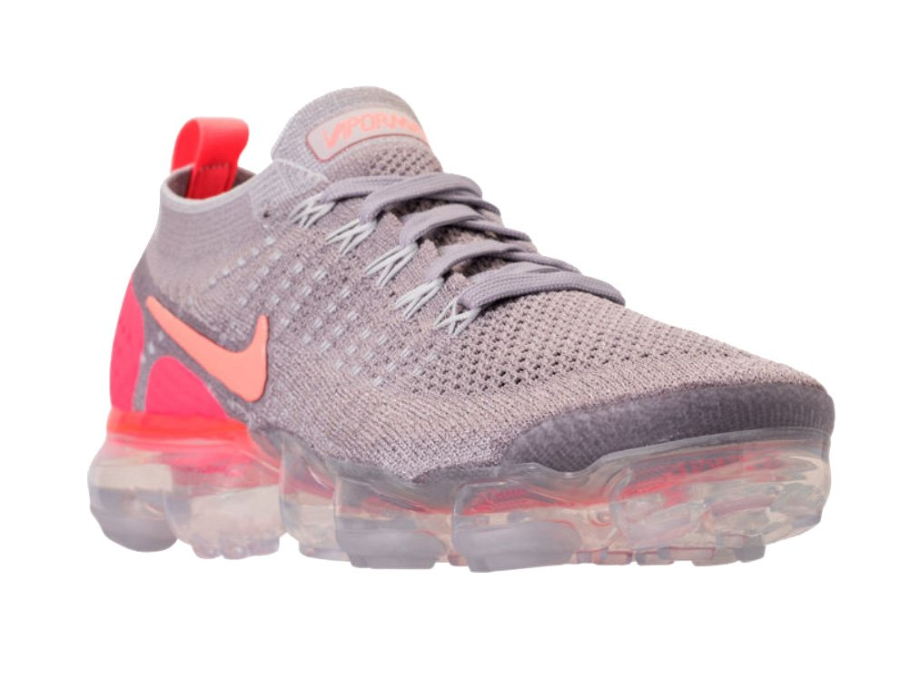 NIKE Women's Air Vapormax Flyknit 2 Running Shoes B07DR58BRL 9 M US|Atmosphere Grey/Crimson Pulse