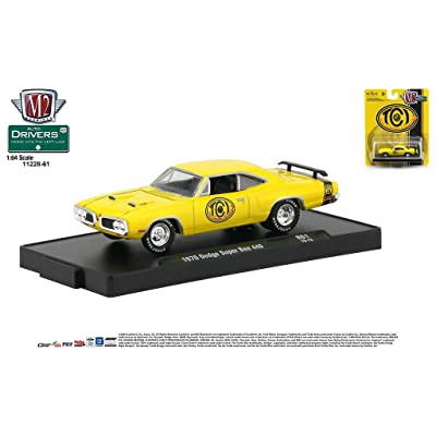 M2 Machines Auto-Drivers 1:64 R61 1970 Dodge Super Bee 440 TCI: Toys & Games