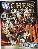 DC Superhero Chess Figure & Magazine #55 Doomsday Black Rook