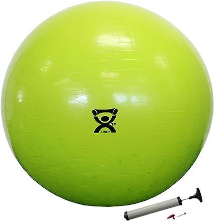 Amazon.com: Cando - Bola hinchable para ejercicio (59.1 in y ...
