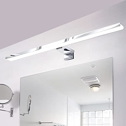 Lampada Bagno Specchio - 8W Sottile Moderna Lampda LED da Bagno Con ...