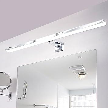 Merveilleux CroLED Lampe Salle De Bain LED 8W Blanc Chaud IP44 Aluminium Eclairage Pour  Miroir Maquillage Ameublement