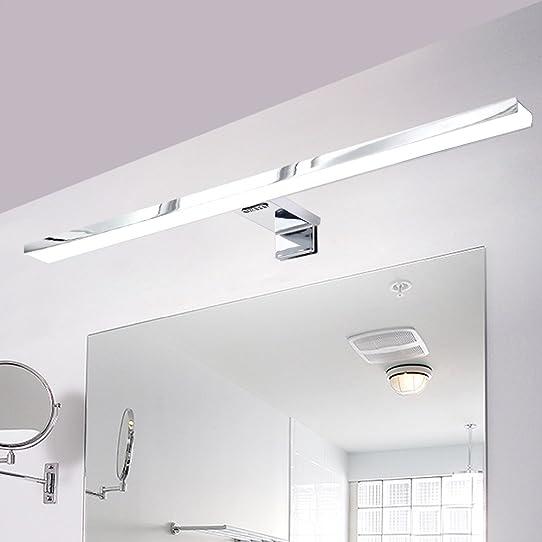CroLED Lampe Salle de Bain LED 8W 600LM Blanc IP44 Aluminium