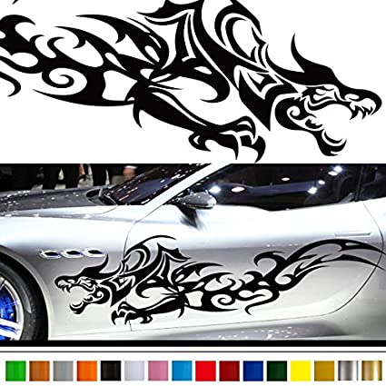 Dragon car sticker car vinyl side graphics 203 car vinylgraphic custom stickers decals
