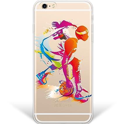 WoowCase Funda iPhone 6 Plus   6S Plus, [Hybrid ] Jugador de ...