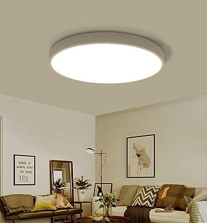 Plafón circular LED Moderno Diseño simple Hierro techo ...