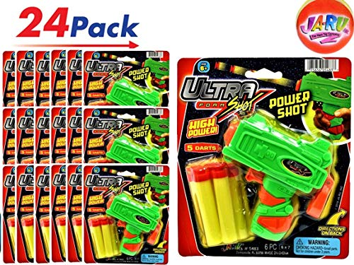 JA-RU Ultra Foam Dart Gun (Pack of 24 Guns) Super Powerful Shotgun | Item #5483-24