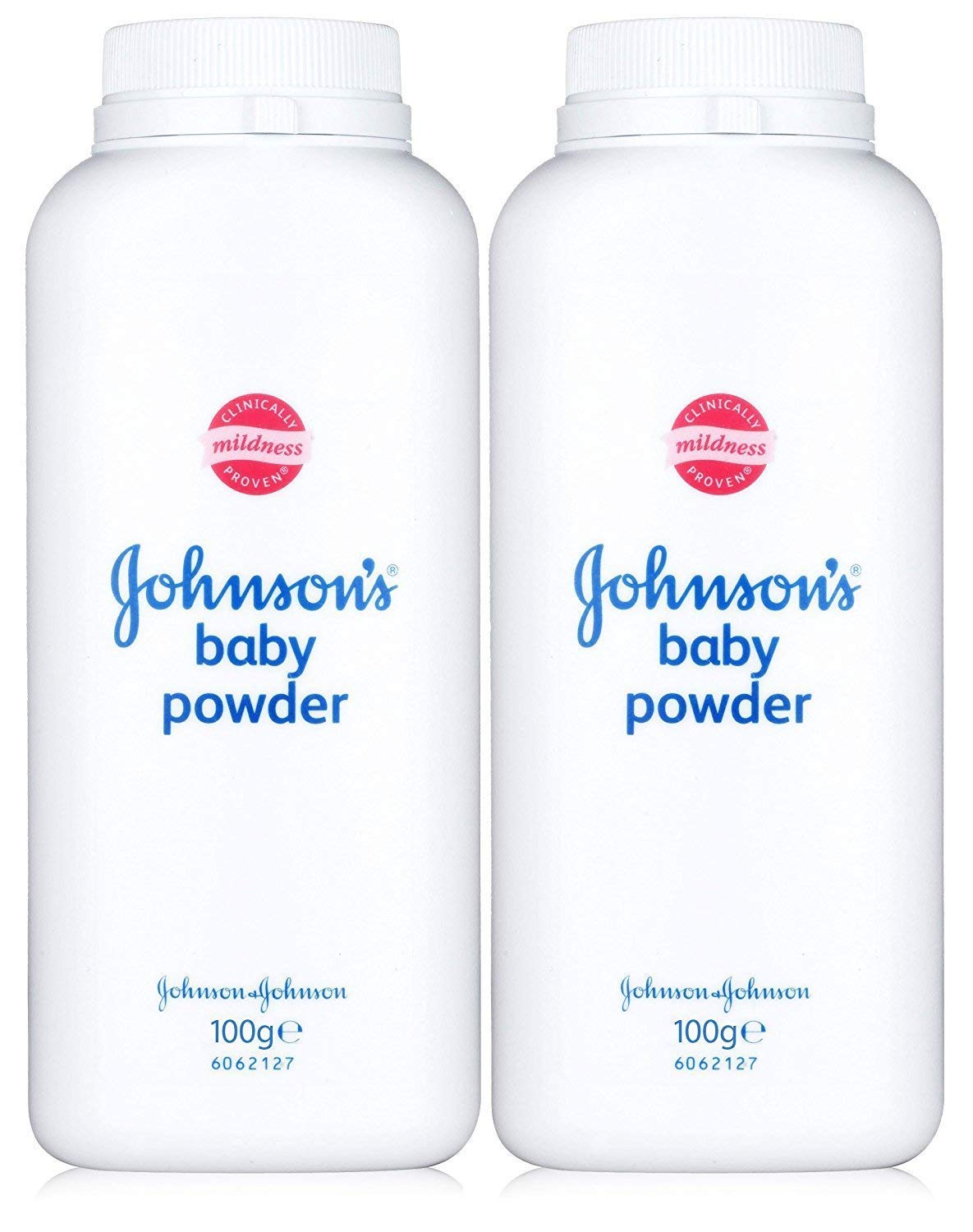 JOHNSON'S BABY POWDER ORIGINAL MINI 100G NEW -CLINICALLY TESTED MILD- UK SELLER Johnson's