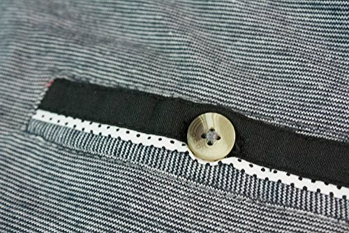 D555 Herren Blusen Poloshirt grau grau