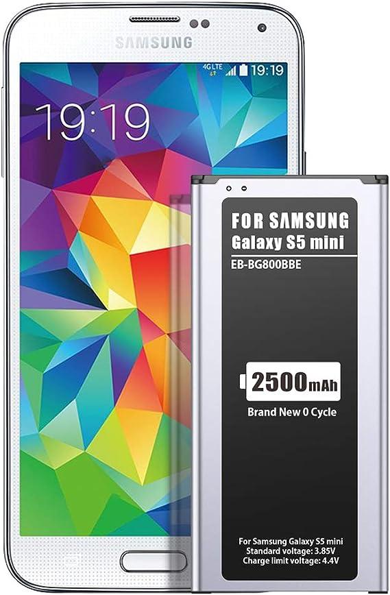 ZMNT 2500mAh Batería de Repuesto para Samsung Galaxy S5 Mini (Compatible con Todos los Modelos Galaxy S5 Mini): Amazon.es: Electrónica