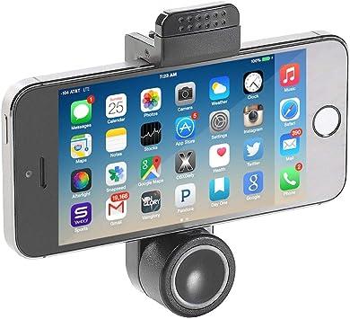 MMOBIEL Universal Soporte de Coche para Teléfono Móvil, Negro, visualización 360°, Mobile Phone Holder para Smartphones: Amazon.es: Electrónica