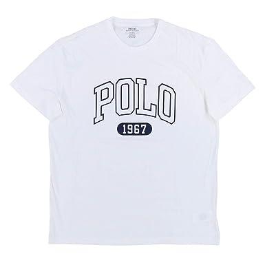 0490dab5 Polo Ralph Lauren Mens Short Sleeve Crew Neck Graphic T-Shirt:  Amazon.co.uk: Clothing
