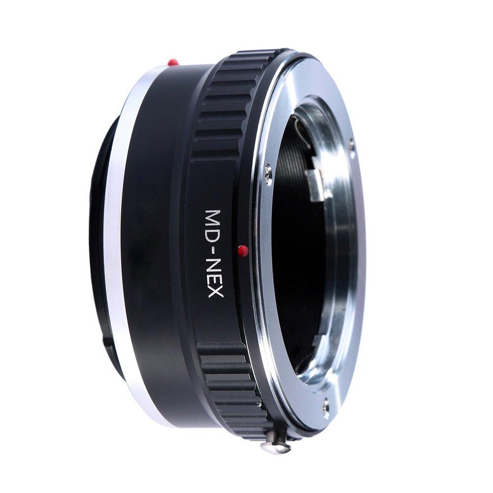 Adapter To Convert Minolta SR, MD, MC Rokkor Lens To Sony E-Mount For Alpha a7, a7S, a7IIK, a7II, a7R II, a6500, a6300, a6000, a5000, a5100, a3000 Mirrorless Digital Camera