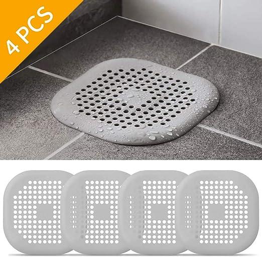 Bathroom Drain Hair Catcher Stopper Shower Bath Tub Cover Sink Filter Strainer