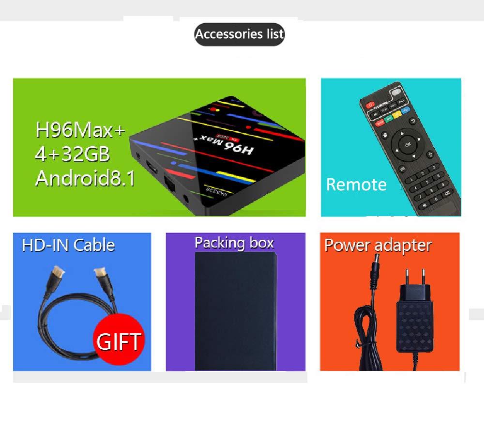 H96 Pro Plus Amlogic S912 Octa Core 3gb Ram 32gb Rom Tv Box Amazon Android Octacore Computers Accessories