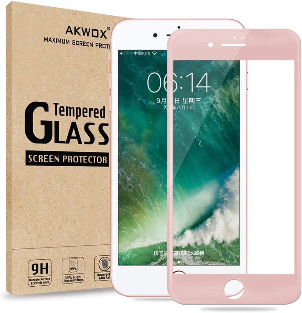 3 Pack Anti Scratch Tempered Glass Screen Protector for iPhone 8 // iPhone 7 9H Hardness The Grafu Screen Protector for iPhone 8 // iPhone 7 Drop Fall Protection