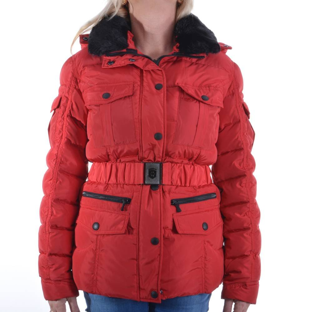 Wellensteyn - Chaqueta - para mujer rojo rojo Large: Amazon ...