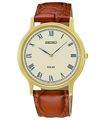 59af9ca212b8 Image Unavailable. Image not available for. Color  Seiko Men s SUP876  Analog Display Japanese Quartz Brown Watch