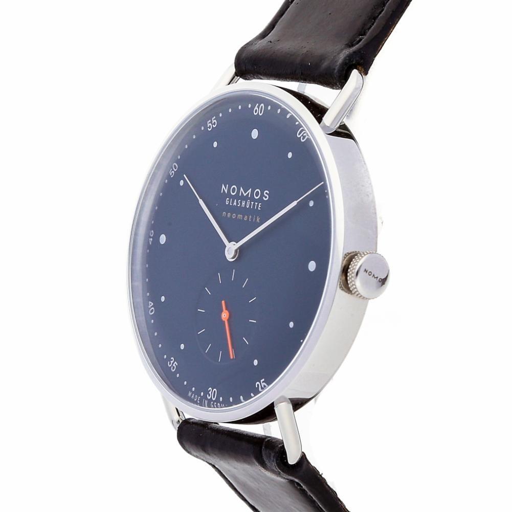 Nomos Glashutte Metro Datum 1115 - Reloj automático, para hombre: Nomos Glashutte: Amazon.es: Relojes