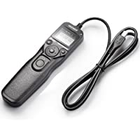 Neewer DSLR Camera Shutter Release Wired LCD Timer Remote Control Intervalometer Time-Lapse Photography Device…