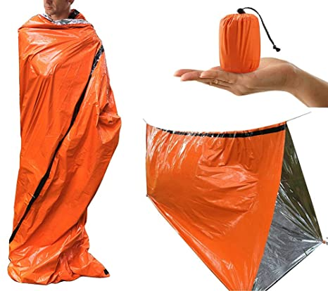 separation shoes cac88 d806f Amazon.com : Z-Point PE Emergency Sleeping Bag - Reusable ...