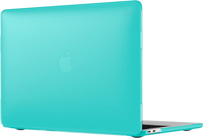 """Speck Products 90206-B189 SmartShell Case for MacBook Pro 13"""" with and Without Touch Bar, Calypso Blue"""