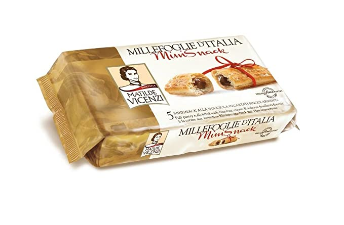 Matilde Vicenzi, Dulce de azúcar (Hojaldres, Avellana) - 3 de 125 gr